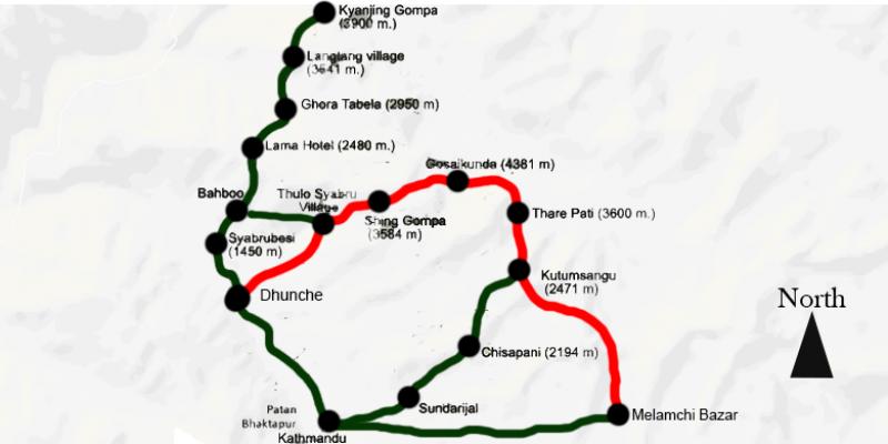 Langtang Gosaikund Circuit 17 days