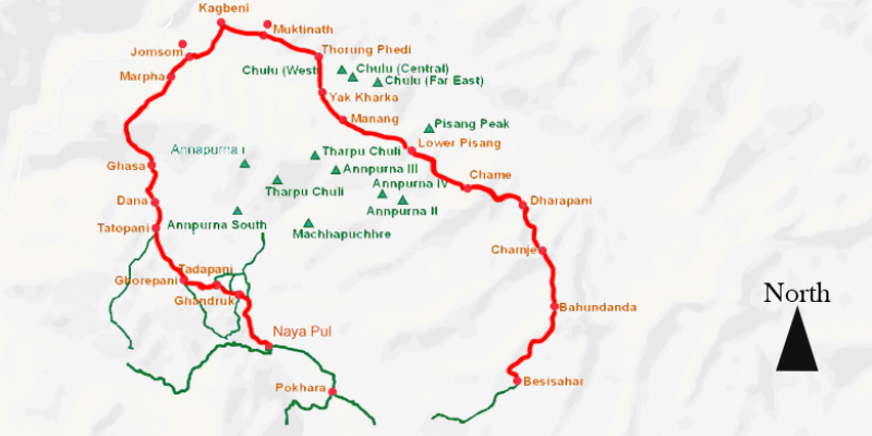 Annapurna Circuit Trek - 21 days