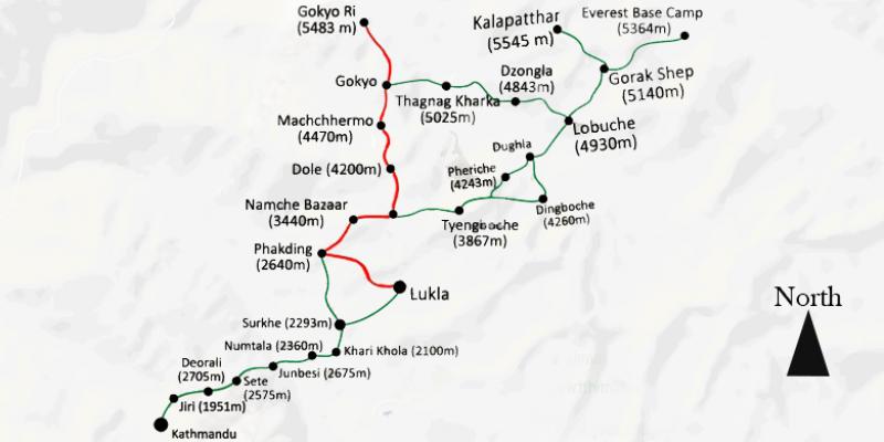 Gokyo Valley Trek - 13 days